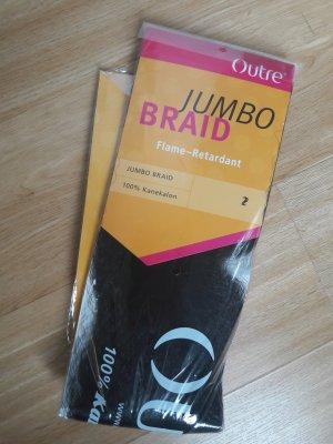 Extensions Braids Kunsthaar braun