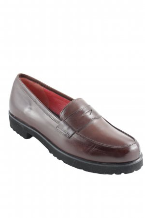 Extralight Chaussure Oxford brun style d'affaires