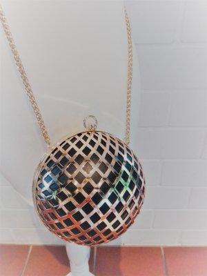 Extravagante Abendtasche rund gold von H&M! Selten! exlusiver Look