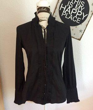 Extravagante Bluse, toller Kragen - Zara
