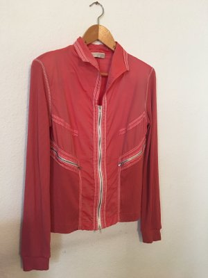 Beate Heymann Streetcouture Shirt Jacket salmon-white
