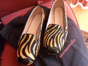 Extravagante Fellballerinas der Marke HOGAN - wie neu!! Schnäppchen!!!