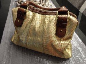extravagante goldene Tasche von Oasis