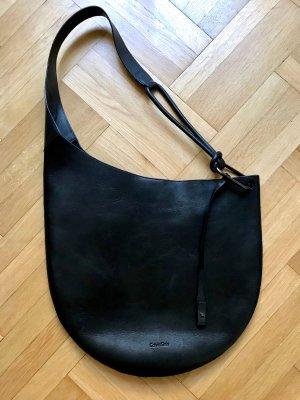 Calvin Klein Hobos black leather