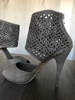 Pieces High Heel Sandal light brown-grey brown