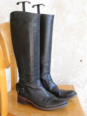 Kennel und Schmenger Jackboots black leather