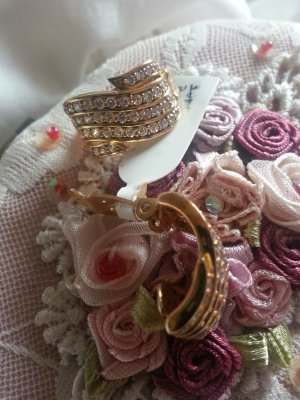 Extravagante Ohrringe ***Neu mit Etikett 925er Gold