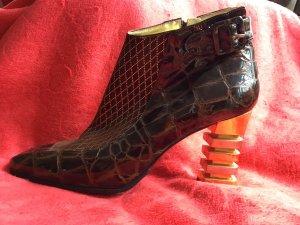 Extravagante Sauro Vintage Stiefelette 40 nie getragen Sammlerstück