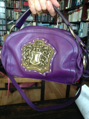 Extravagante Shoulder Bag mit Henkel von Yves Saint Laurent