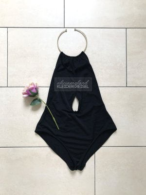 Asos Swimsuit black-gold-colored