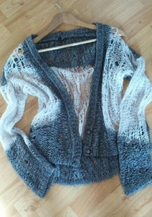 Extravaganter Cardigan Strickjacke Benetton
