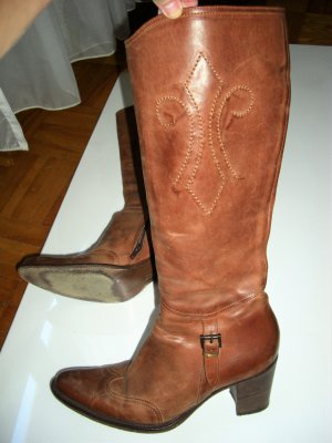 Riding Boots brown leather