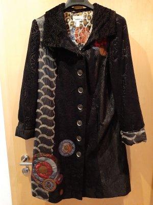 Amy Vermont Between-Seasons-Coat multicolored mixture fibre