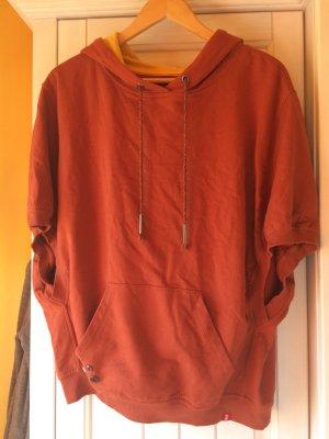edc by Esprit Poncho roodbruin-goud Oranje