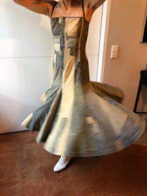 Ralph Lauren Vestido corsage multicolor Algodón