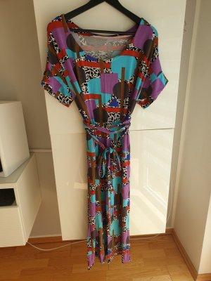 Robe portefeuille multicolore
