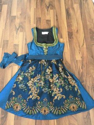 Angermaier Vestido Dirndl multicolor tejido mezclado