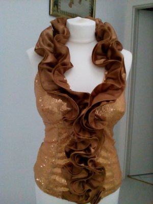 Halter Top gold-colored