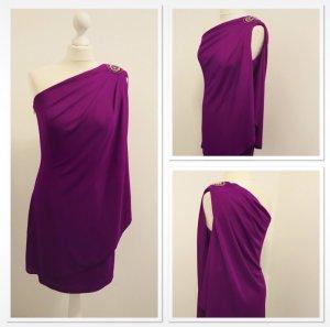 JS Boutique One Shoulder Dress purple