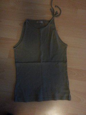Extravagantes Top Olivgrün khaki