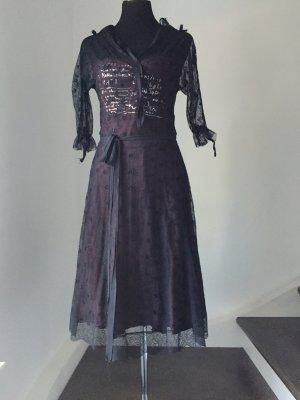 Extravagantes Zweiteiliges Kleid mit Spitze ! 38/40