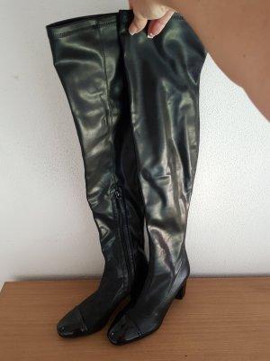 Zara Woman Cuissarde noir
