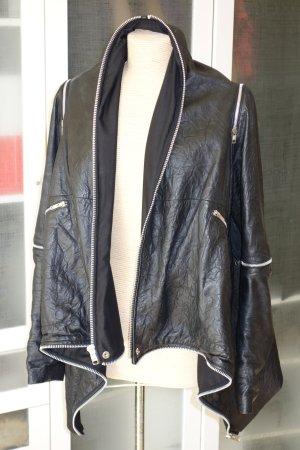 Leather Jacket black leather