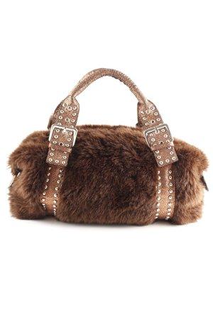 Extyn Denim Carry Bag dark brown-bronze-colored elegant