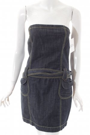 Extyn Denim Jeanskleid blau Casual-Look