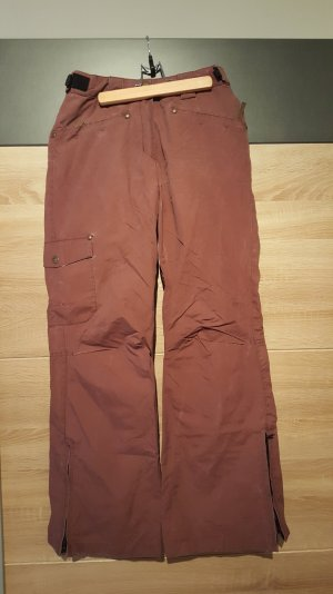 Pantalon de ski or rose-violet