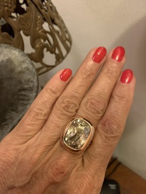 Pierre Lang Statement Ring rose-gold-coloured-white