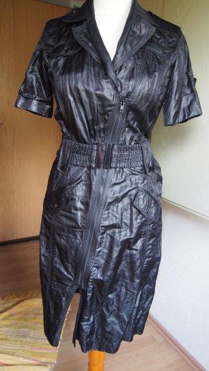 Ambiente Vestido de camuflaje negro tejido mezclado