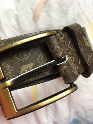 Ezekiel Faux Leather Belt multicolored