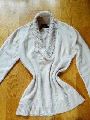 F&F 100% Cashmere Pullover 40 mit Schalkragen