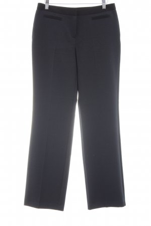 F&F Bundfaltenhose schwarz Business-Look