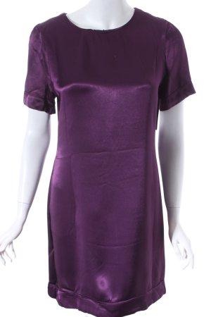 F&F Kleid dunkelviolett klassischer Stil