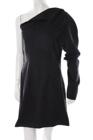 f.rau Berlin Cut-Out-Kleid schwarz extravaganter Stil