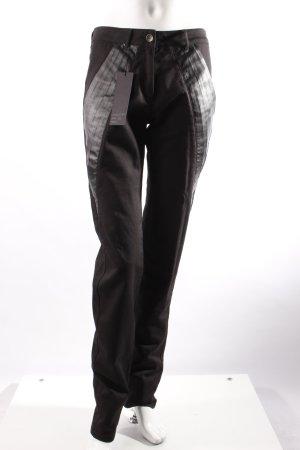 f.rau Skinny Jeans schwarz