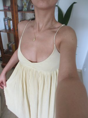 H&M Dress pale yellow