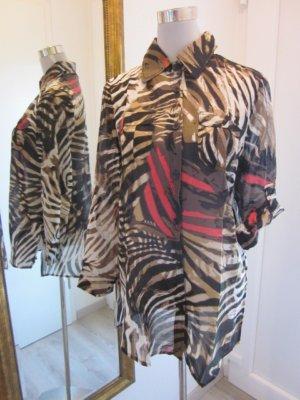 Faber Longbluse Gr 40 Zebra Bunt