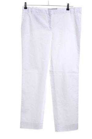 Fabiana Filippi Pantalon de costume blanc style décontracté