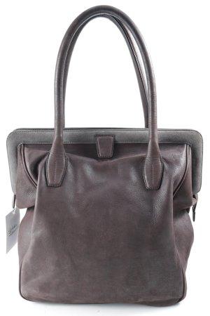Fabiana Filippi Bügeltasche braunviolett-grau schlichter Stil