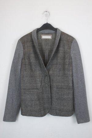 Fabiana Filippi Giacca di lana argento-grigio Lana