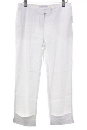 Fabiana Filippi Leinenhose weiß Elegant