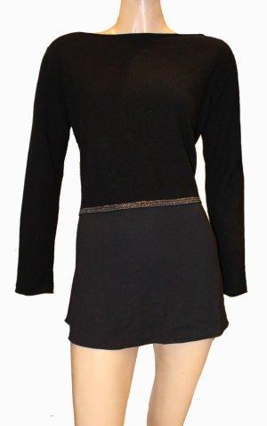 FABIANA FILIPPI Long Pullover schwarz Kaschmir Gr.40-42