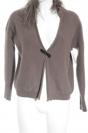 Fabiana Filippi Strick Cardigan taupe Casual-Look