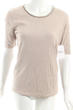 Fabiana Filippi T-Shirt beige meliert Casual-Look
