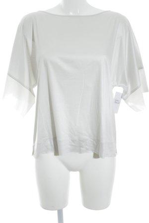 Fabiana Filippi T-Shirt blassblau-weiß Casual-Look
