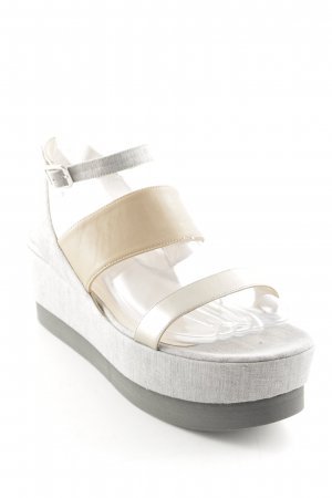Fabiana Filippi Wedge Sandals multicolored casual look