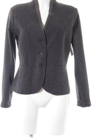 Fabiana Filippi Woll-Blazer grau-braun schlichter Stil